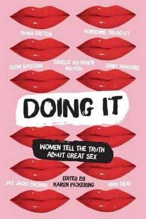 Cover of Doing It edited by Karen Pickering - Feminist books Australi