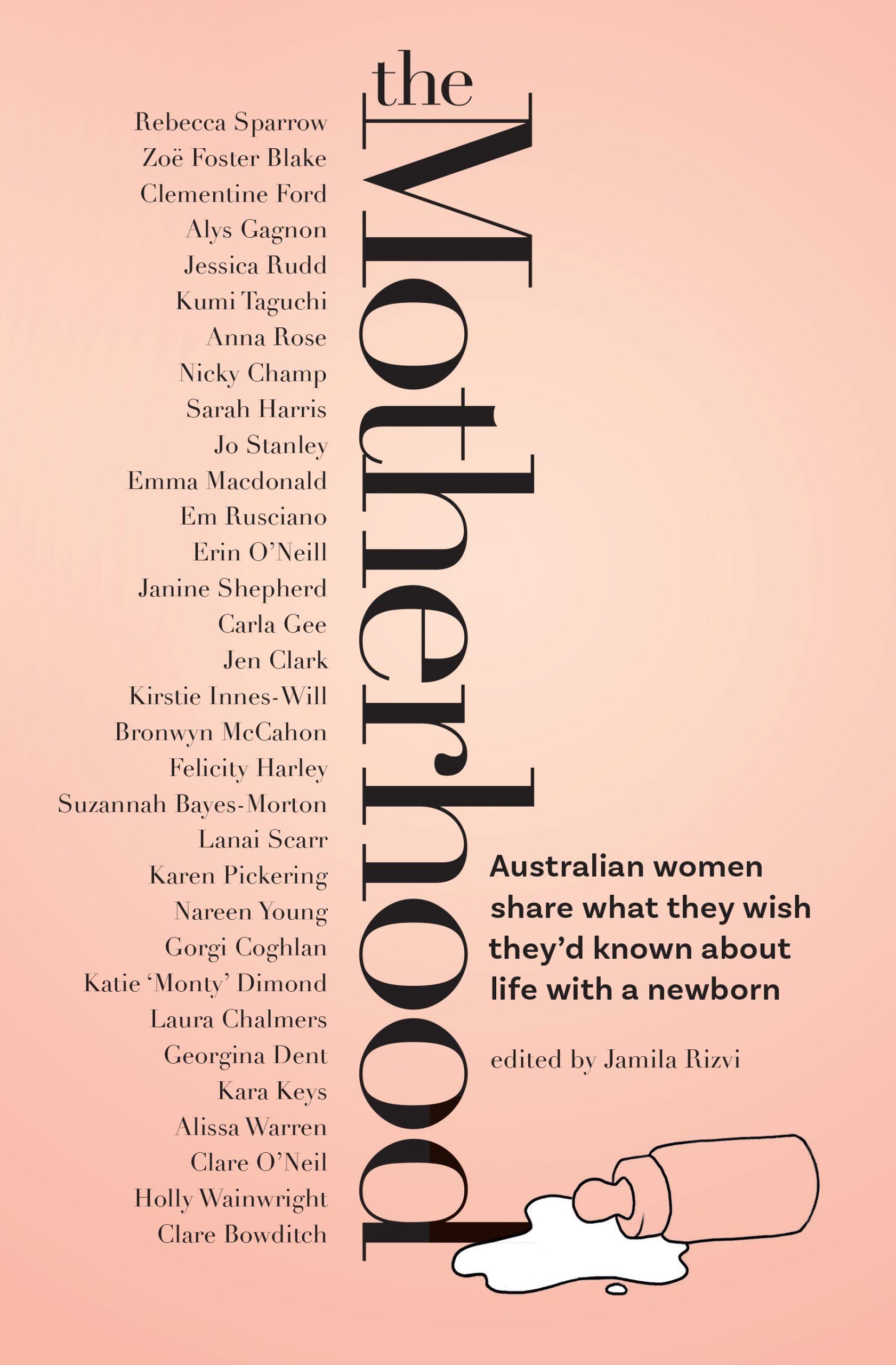 The Motherhood cover - edited by Jamila Rizvi - chapter by Karen Pickering